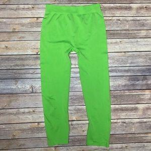 Malvin Green Tights Capris Leggings Halloween